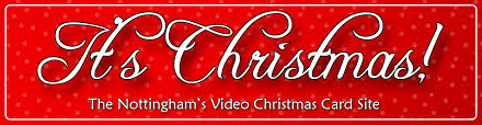 video christmas cards by the nottingham family it u0027s christmas