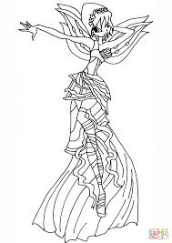 coloring download winx club bloom harmonix coloring pages winx