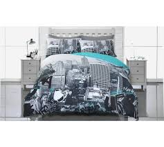 New York City Duvet Cover Buy Home Uptown Graffiti Bedding Set Double At Argos Co Uk