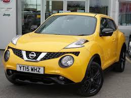 2015 used nissan juke 5dr 2015 15 nissan juke 1 5 dci tekna 5dr inc comfort pack in yellow