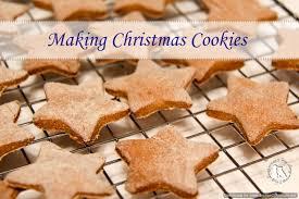 making christmas cookies 2 brown dawgs blog
