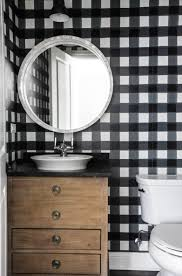 Black And White Buffalo Check Curtains Western Springs Project Park And Oak Interior Design