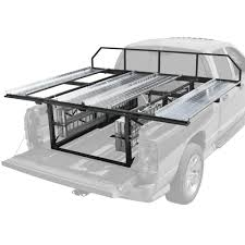 haulall atv truck rack system holds 2 atvs discount ramps