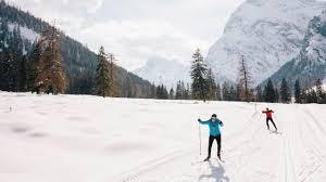 xc ski trails for novices austrian tirol