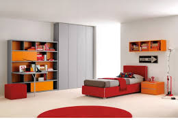 rhythm 003 bedroom set with bookcase and integrated desk clever it