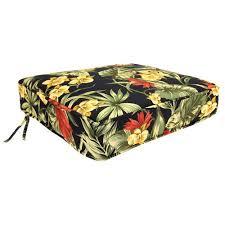 jordan manufacturing floral outdoor deep seat cushion multiple