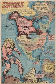 Future Map Of The World by Kamandi U2013 The Last Boy On Earth Comics My Mom Should Read