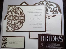 brides wedding invitation kits michae yaseen