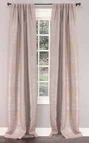Burlap Grommet Curtains Emdee International Burlap Collection Foil Herringbone Burlap
