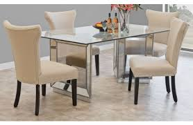 wartun mirrored dining room table