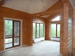 Log Home Interior Walls by Log Home Interiors