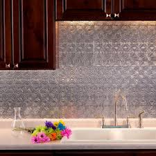aluminum kitchen backsplash fasade 24 in x 18 in lotus pvc decorative tile backsplash in
