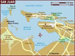 san juan map map of san juan
