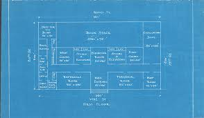 blueprint floor plan early blueprint of the floor plans of the central library of the