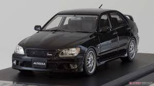 altezza car black toyota altezza rs 200 custom version black diecast car images list