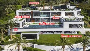 us u0027 most expensive home hits market at 250m in la daily mail online