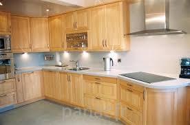 meubles de cuisine en bois facade meuble cuisine bois brut degraisser les meubles de cuisine