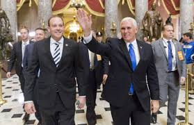 Rep Rep Zeldin Meets With Vice President Mike Pence In Washington Dc
