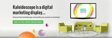 orthodontic digital signage dental digital signage kaleidoscope