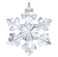 annual ornament by swarovski
