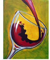 martini glass acrylic painting corks n canvases paint n sip paint party mobile paint party art class