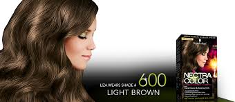 Light Brown Color Nectra Color Shade 600 Light Brown