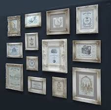 french vintage retro shabby chic paris photo picture frame beige