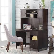 Espresso Secretary Desk by Belham Living Richland Desk With Hutch Espresso Hayneedle