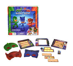 pj masks night sight mystery game toys