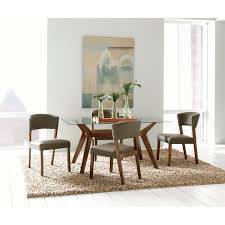 coaster furniture 122171 cb60rt paxton rectangular glass dining