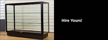 glass counter display cabinet hire full glass display cabinets hire glass showcases display