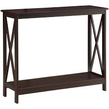 Wooden Sofa Tables by Convenience Concepts Oxford Console Table Multiple Colors