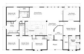 4 bedroom home design plan elegant 4 bedroom mobile homes 62 for house design plan with 4
