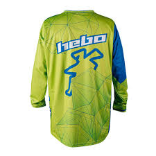 green motocross boots smite hebo build hebo end cross sway offroad t shirts blue green