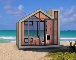 bunkie premier deluxe small prefab studio micro space on the beach