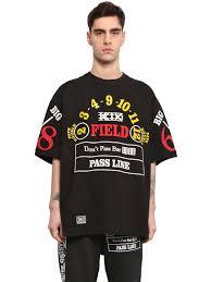 Big Men Clothing Stores Rhude La Bandana Ktz T Shirt Ktz Casino Printed Cotton Jersey T