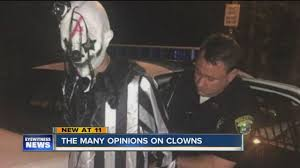 clowns ny clown sightings leave on edge wkbw buffalo ny