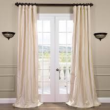 White Taffeta Curtains Thai Silk Curtains Thai Silk Drapes Half Price Drapes