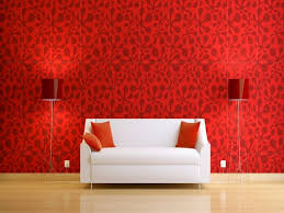 Bookcase Backdrop Baby Nursery Divine White Wall Red Living Room House Design