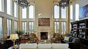 2 story living room two story great rooms design ideas youtube 2 story living room
