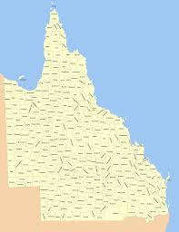map of queensland lands administrative divisions of queensland