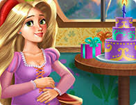 pregnant rapunzel maternity deco games