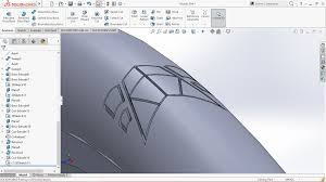 solidworks linear pattern how to apply circular pattern to cut extrude feature in solidworks