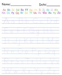 printable handwriting worksheets for kindergarten free worksheets