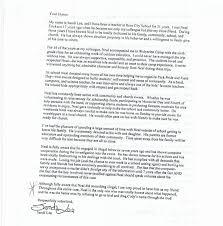 leniency letters from west branch rose city teachers