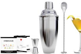 martini shaker shaking the best cocktail shaker sets under 25 spy