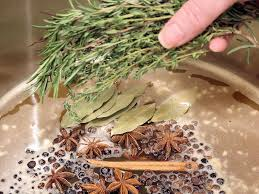 herbed turkey recipes thanksgiving cider u0026 citrus turkey brine with herbs and spices wicked good