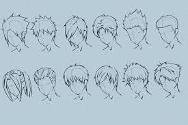 male anime hairstyles immodell net