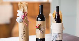 wine bottle wraps 3 beautiful handmade wine bottle gift wrap ideas wine occasions