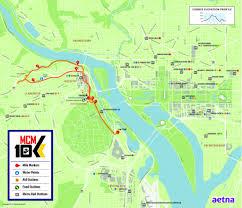 Washington Dc Traffic Map by Traffic Alert Marine Corps Marathon Road Closures On Sunday